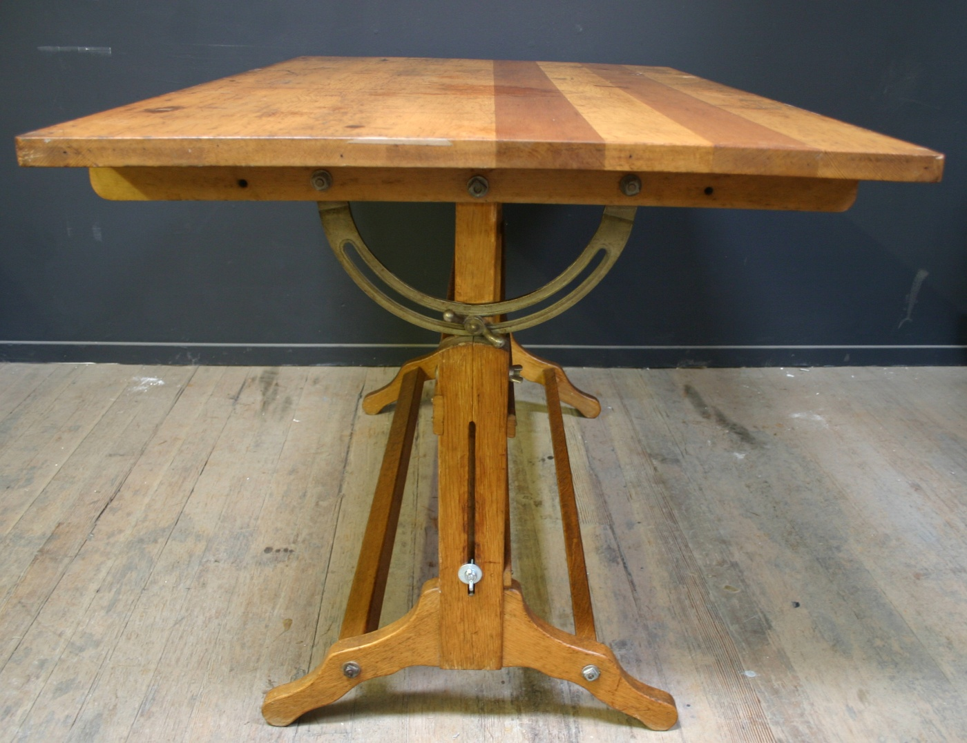 vintage wood drafting table images