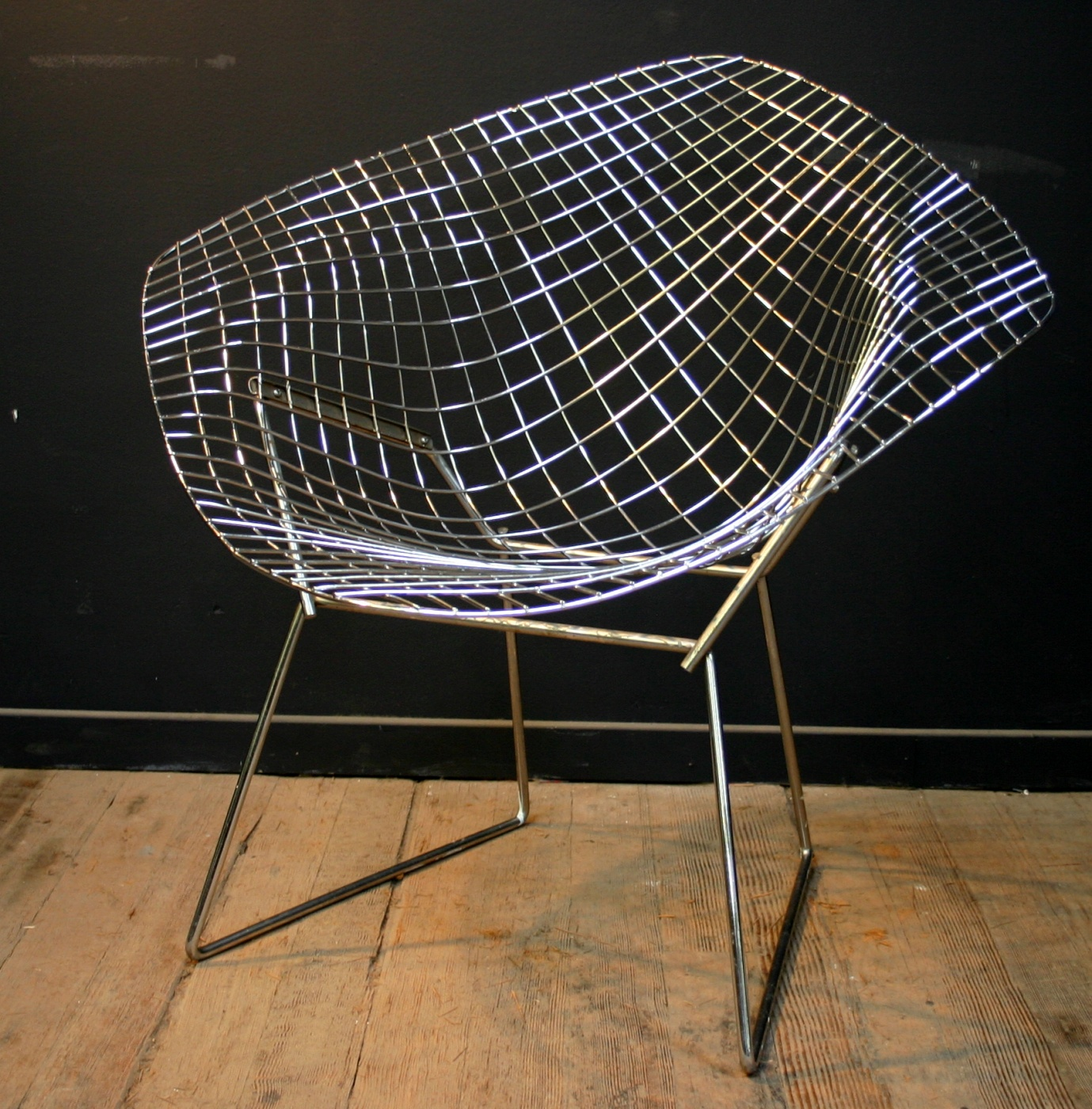 q how do you turn a harry bertoia diamond chair into a. Black Bedroom Furniture Sets. Home Design Ideas