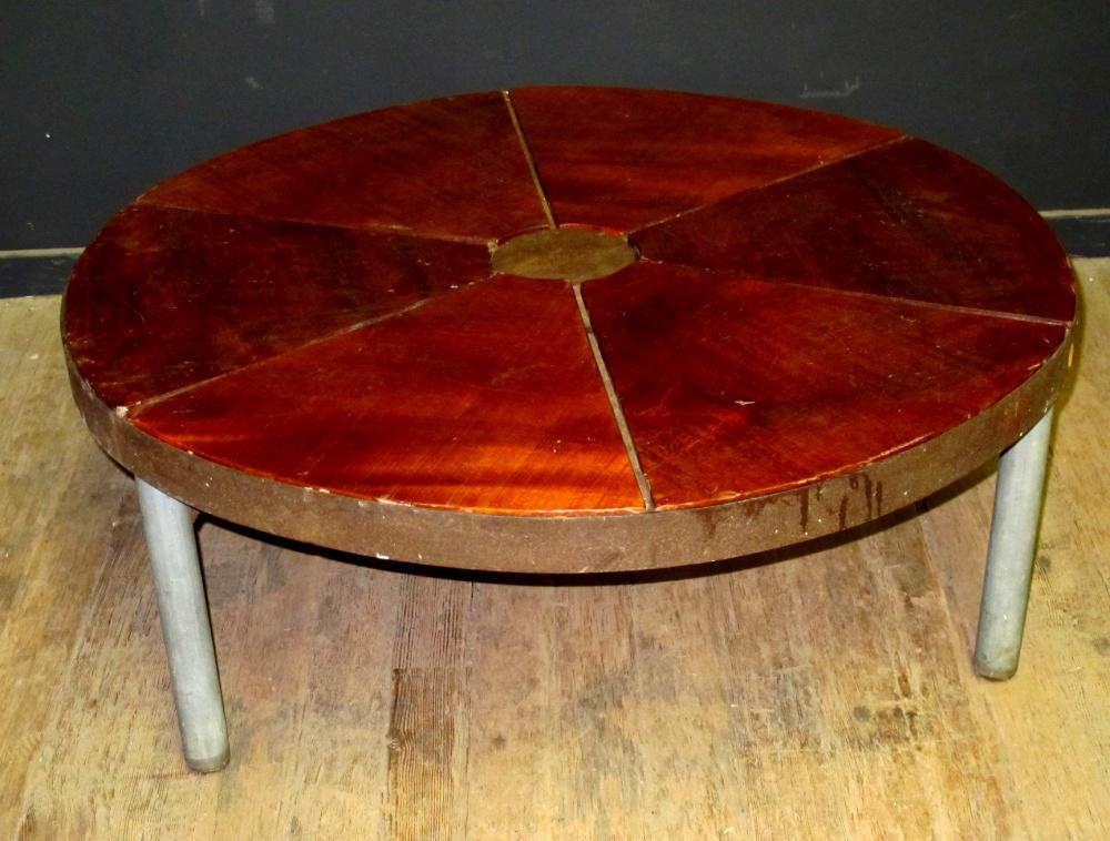 New inventory roundup vintage furniture guru for Orange coffee table